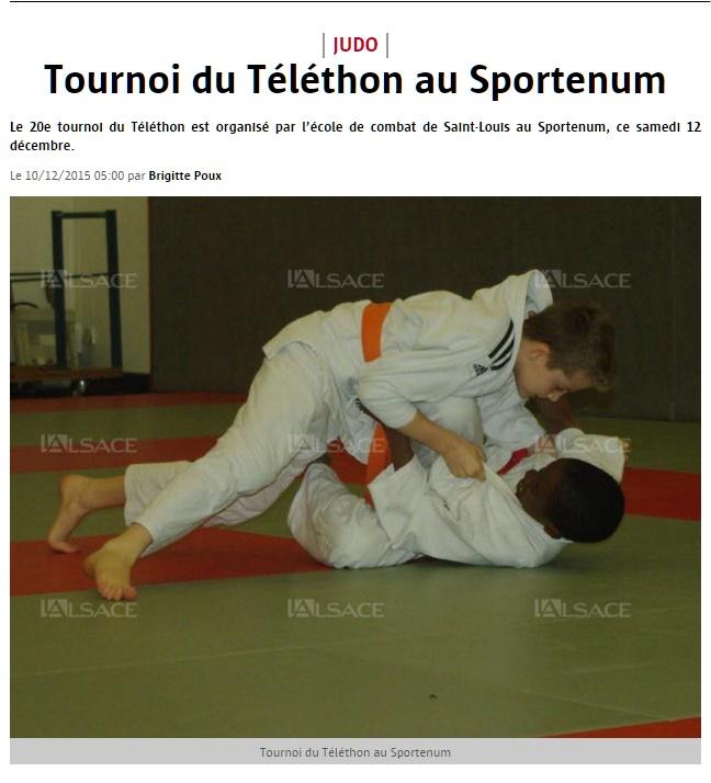 Saint-Louis Tournoi du Téléthon au Sportenum - Google Chrome
